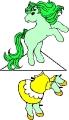 Бумажные куклы лошади