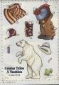 Бумажные куклы - Медведи (Bears)