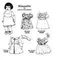 Бумажные куклы - Малыши (bleuette)