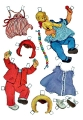 Бумажные куклы - Малыши (cover)