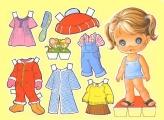 Бумажные куклы - малыши