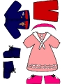 Бумажные куклы - Малыши (CLOTHEs)