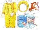 Бумажные куклы - Малыши (doll)