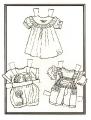Бумажные куклы - Малыши (бебики)