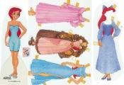 Бумажные куклы - Русалочка (sirenita)