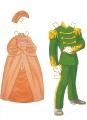 Бумажные куклы - Русалочка (mermaid2)