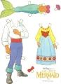 Бумажные куклы - Русалочка (little mermaid)