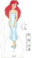 Бумажные куклы - Русалочка (mermaid)