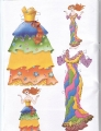 Бумажные куклы - Русалочка (mermaid rus)