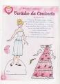 Бумажные куклы - Золушка (Cinderella vestidos))