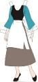 Бумажные куклы - Золушка (CENICIENTA)
