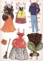 Бумажные куклы - Золушка (cinder)