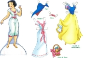 Бумажные куклы - Белоснежка1
