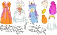 Бумажные куклы - Белоснежка (snow2)