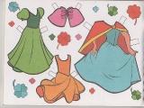 Бумажные куклы - Белоснежка (рус)