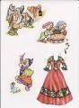 Бумажные куклы - Белоснежка