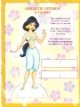 Бумажные куклы - Жасмин и Аладин