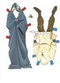 Бумажные куклы - Горбун из нотр-дама2