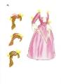 Бумажные куклы - Красавица и чудовище