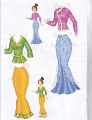 Бумажные куклы - Мулан