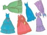 Бумажные куклы - Принцессы Disney