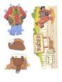 Бумажные куклы - Винни Пух