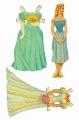 Бумажные куклы - Спящая красавица (Аврора3)