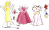 Бумажные куклы - Спящая красавица (Аврора)