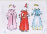 Бумажные куклы - Спящая красавица (Аврора2)