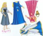 Бумажные куклы - Спящая красавица2