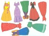 Бумажные куклы - Спящая красавица (Аврора4)