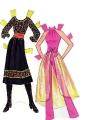 Бумажные куклы - Барби (pretty changes barbie)