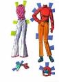 Бумажные куклы - Барби 2