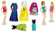 Бумажные куклы - Барби 8
