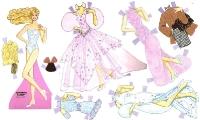 Бумажные куклы - Барби (lamina barbie)