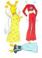 Бумажные куклы - Барби (SuperStar 1977)