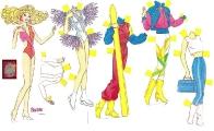 Бумажные куклы - Барби 5