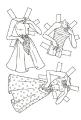 Бумажные куклы - Барби 4
