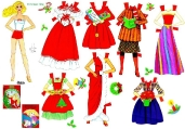 Бумажные куклы - Барби (lamina barbie2)