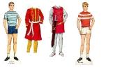 Бумажные куклы - Кен и Аллан