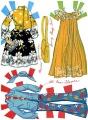 Бумажные куклы - Барби (1947)