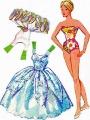 Бумажные куклы - Барби балерина