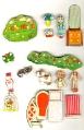 Бумажные куклы - домик маши и даши