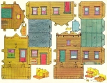 Бумажные куклы - мебель, дома